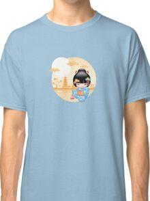Japanese Maiko Kokeshi Doll Classic T-Shirt
