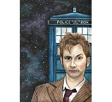 DOCTOR WHO DT Photographic Print