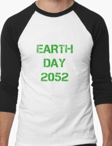 Earth Day 2052 Men's Baseball ¾ T-Shirt