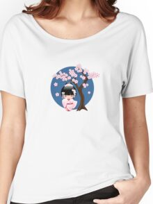 Japanese Bride Kokeshi Doll Women's Relaxed Fit T-Shirt