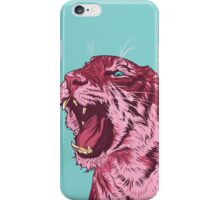 Magenta tiger iPhone Case/Skin