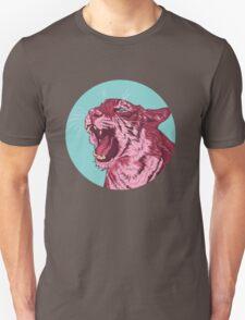 Magenta tiger Unisex T-Shirt