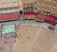 Down Below; Piazza Del Campo Sticker