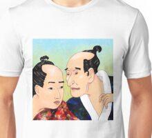 Mr Hokusai and Mr Hiroshige Unisex T-Shirt