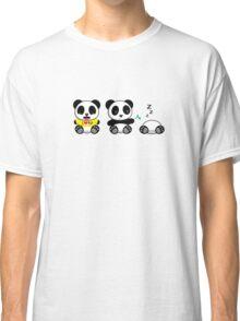 Cute Little Pandas Classic T-Shirt