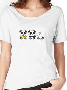 Cute Little Pandas Women's Relaxed Fit T-Shirt