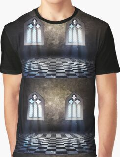 Room with Gothic Window 3 Graphic T-Shirt