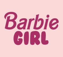 Barbie Girl One Piece - Short Sleeve