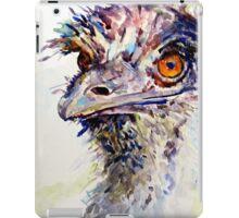 Emu again iPad Case/Skin