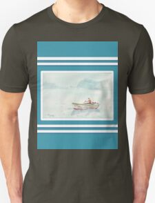 Beach house style 1 - Fisherman's boat Unisex T-Shirt