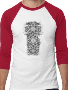 intrakizi Men's Baseball ¾ T-Shirt