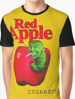 RED APPLE Graphic T-Shirt