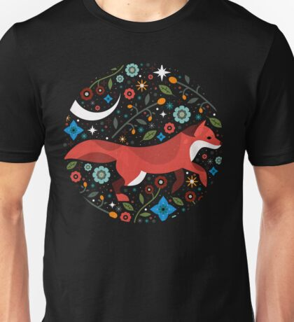 Flame Fox  Unisex T-Shirt
