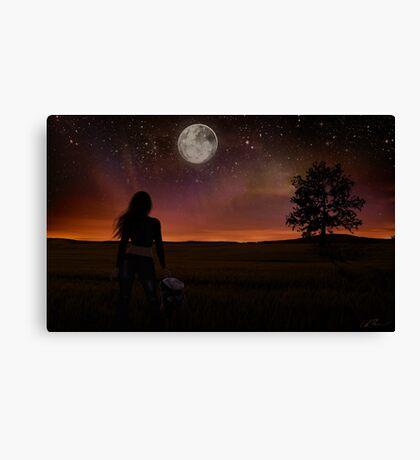 The Night Traveler Canvas Print