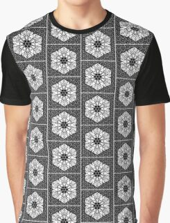 Mandala 5 Repeating Arrows Chaotic Graphic T-Shirt