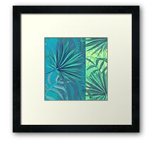 soft tropic  Framed Print