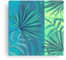 soft tropic  Canvas Print