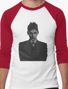 Penguin portait - Gotham Men's Baseball ¾ T-Shirt