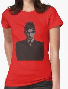 Penguin portait - Gotham Womens Fitted T-Shirt