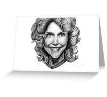Karen Carpenter drawing Greeting Card