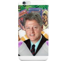 trill/Bill clinton drinking purple lean/drank iPhone Case/Skin