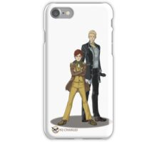 Stephen and Crane by Mila May iPhone Case/Skin