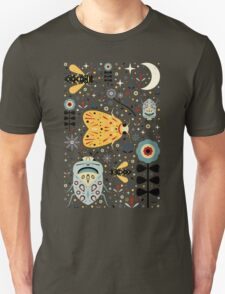 Midnight Bugs Unisex T-Shirt