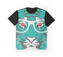 Bookish Big Cat Graphic T-Shirt