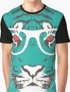 Bookish Big Cat Graphic T-Shirt