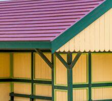 Victoriana Beach Hut Sticker