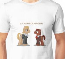 Charm of Magpies ponies Unisex T-Shirt