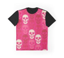 Saccharine Skulls Graphic T-Shirt