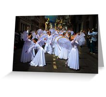 Angels Of The Morning Greeting Card