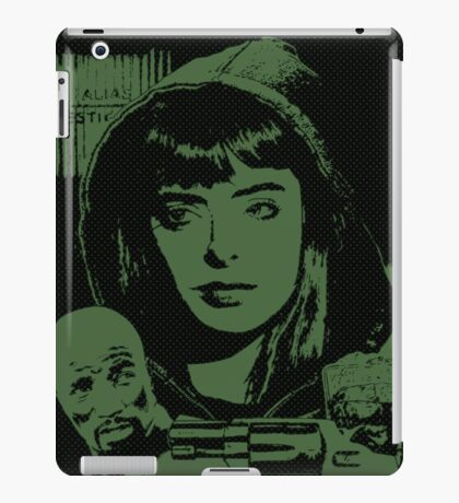 Jessica Jones in action iPad Case/Skin