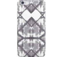 geometrical waters - monochrome iPhone Case/Skin