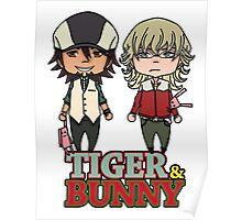 TIGER&BUNNY chibi Poster