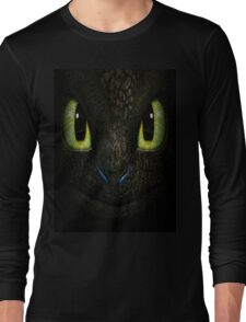 Big Toothless From How To Train Your Dragon Long Sleeve T-Shirt
