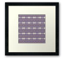 Lines and Blocks  Framed Print