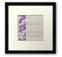 Watercolour blocks  Framed Print