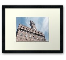 Florencia architecture Framed Print