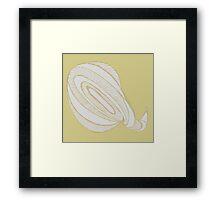 Shiny Snail Framed Print