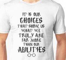 Dumbledore quote Unisex T-Shirt