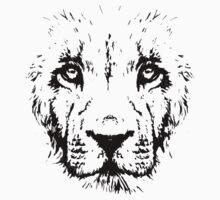 Lion - Stencil One Piece - Short Sleeve