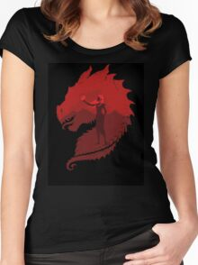 Mother of Dragons (Dark) Women's Fitted Scoop T-Shirt