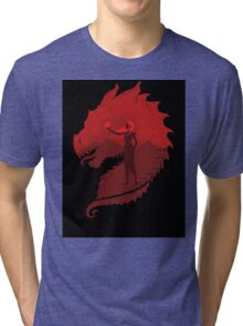 Mother of Dragons (Dark) Tri-blend T-Shirt
