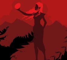 Mother of Dragons (Dark) Sticker