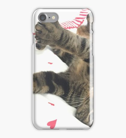 Kitten having a stretch iPhone Case/Skin