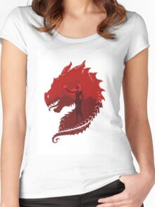 Mother of Dragons (Light) Women's Fitted Scoop T-Shirt