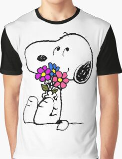 Snoopy Springtime Graphic T-Shirt