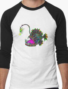 Electric Angler Fish Men's Baseball ¾ T-Shirt